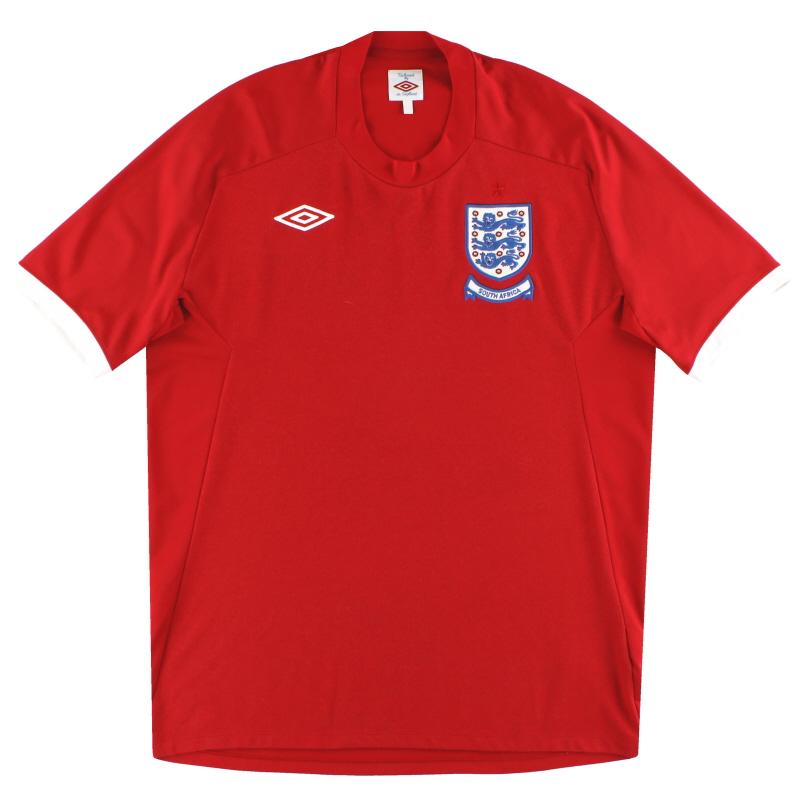 2010 England Umbro 'South Africa' Away Shirt XL