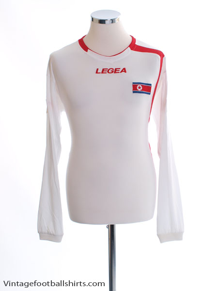 2010 North Korea Pre World Cup Away Shirt L/S *BNIB*
