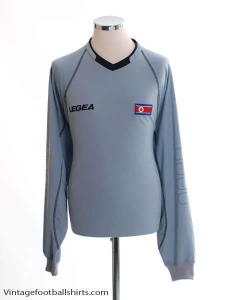 2010 North Korea Pre World Cup Grey Gk Shirt *BNIB* L