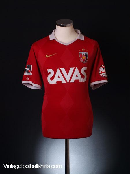 2010 Urawa Red Diamonds Home Shirt L