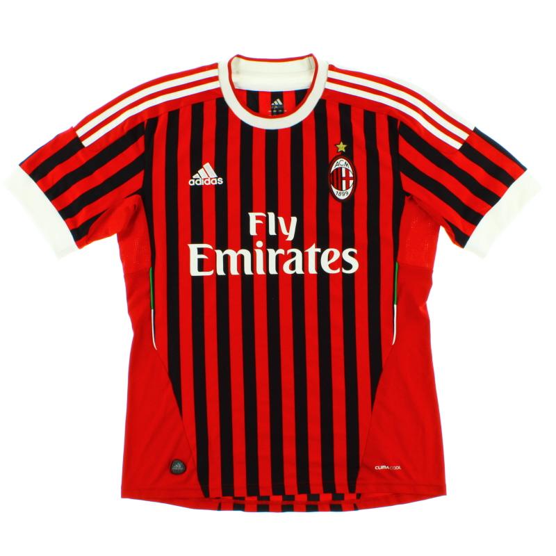 2011-12 AC Milan Home Shirt *Mint* M - V13457