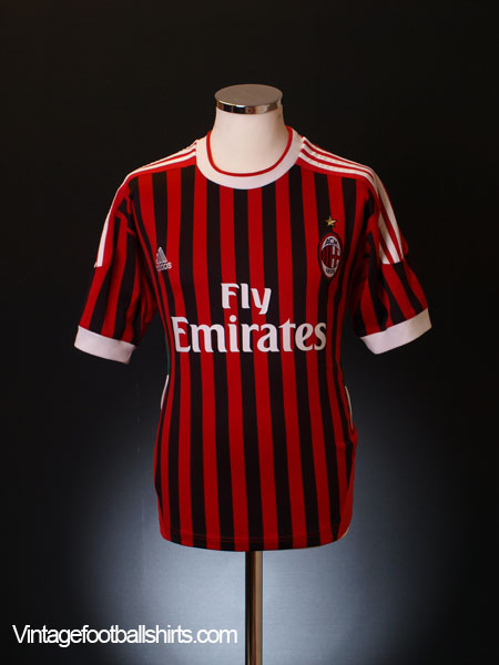 2011-12 AC Milan Home Shirt Y