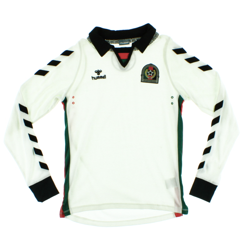 2011-12 Afghanistan Home Shirt L/S XS