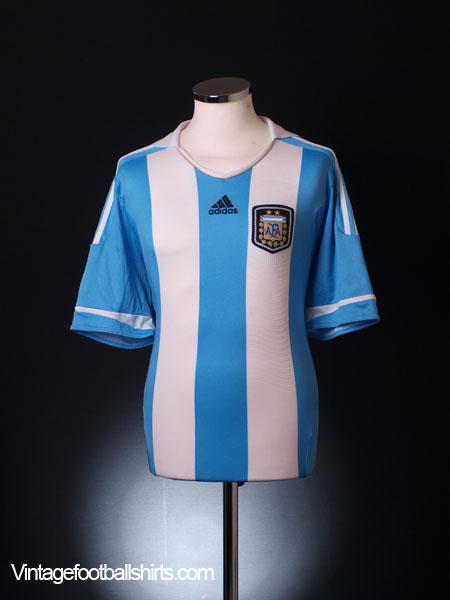2011-12 Argentina Home Shirt XL