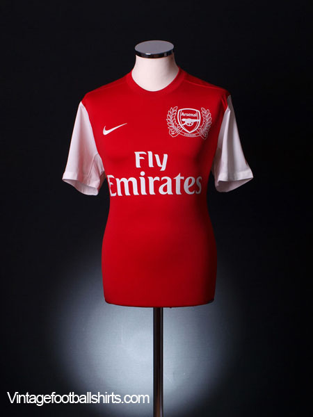 2011-12 Arsenal '125th Anniversary' Home Shirt L