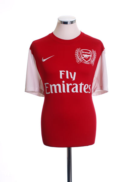 2011-12 Arsenal '125th Anniversary' Home Shirt S