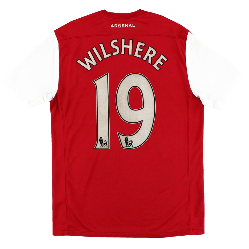 2011-12 Arsenal '125th Anniversary' Home Shirt Wilshere #19 M - 423980-620