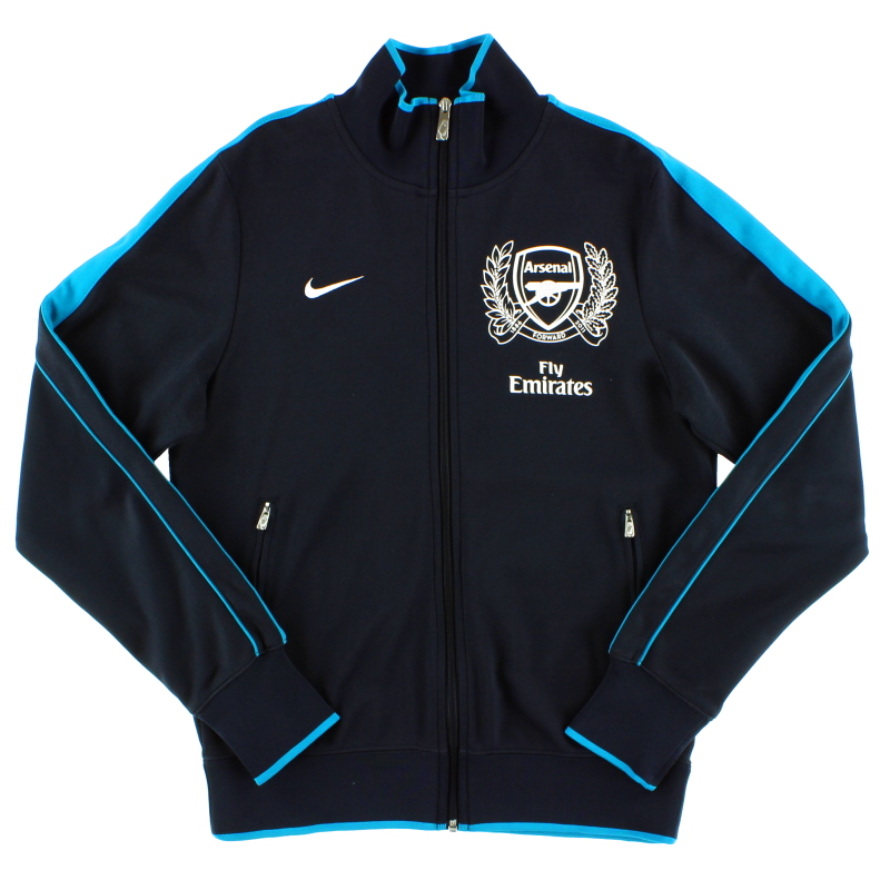2011-12 Arsenal Nike N98 Track Jacket S - 423997-472