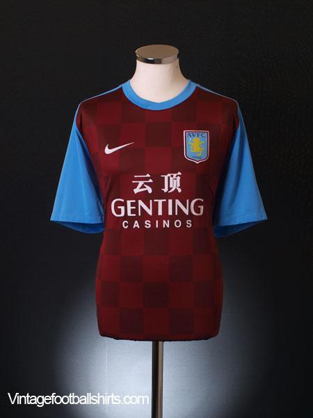 2011-12 Aston Villa Home Shirt S
