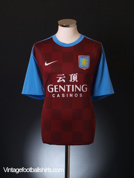 2011-12 Aston Villa Home Shirt *Mint* XL
