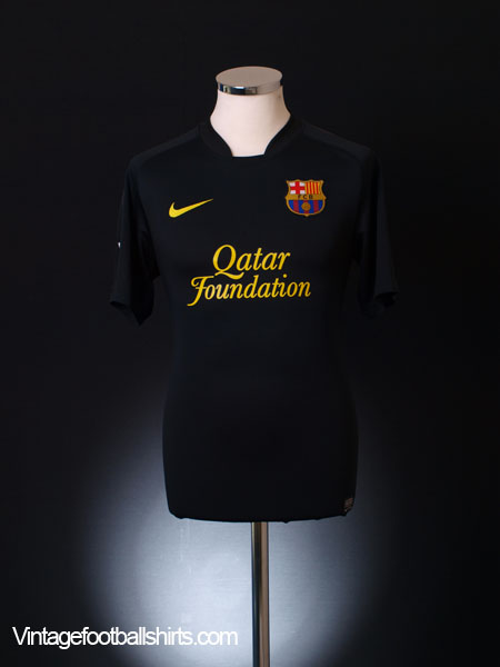2011-12 Barcelona Away Shirt M