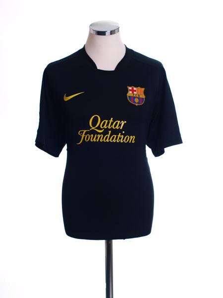 2011-12 Barcelona Away Shirt M