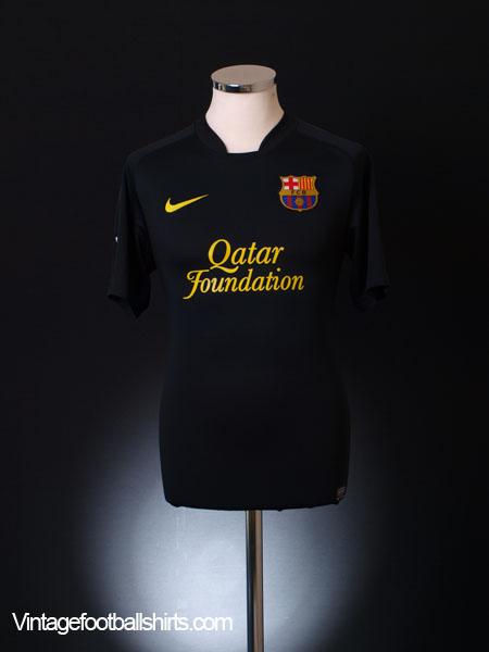 2011-12 Barcelona Away Shirt XL