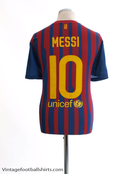 2011-12 Barcelona Home Shirt Messi #10 L - 419877-486