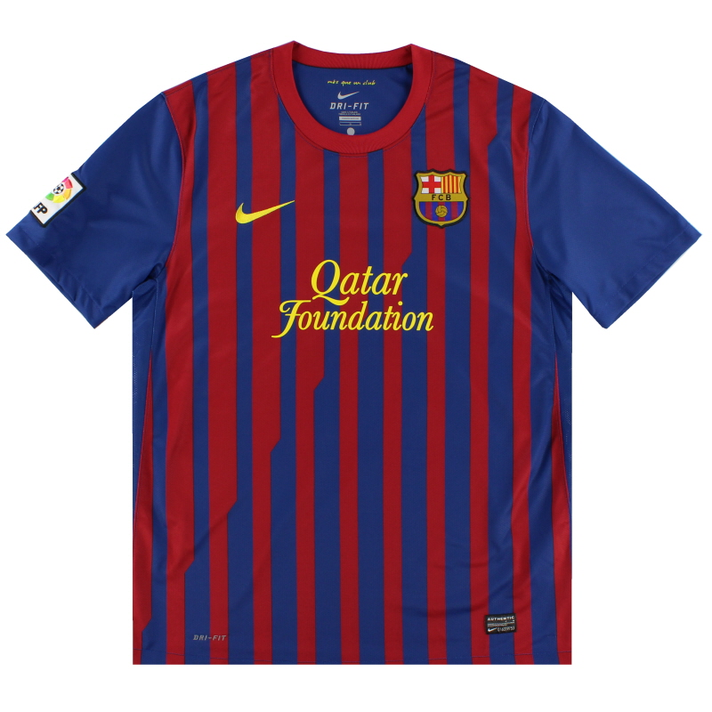 2011-12 Barcelona Home Shirt S - 419877-486