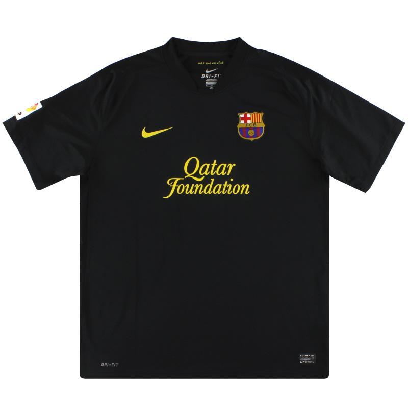 2011-12 Barcelona Nike Away Shirt S - 419880-010