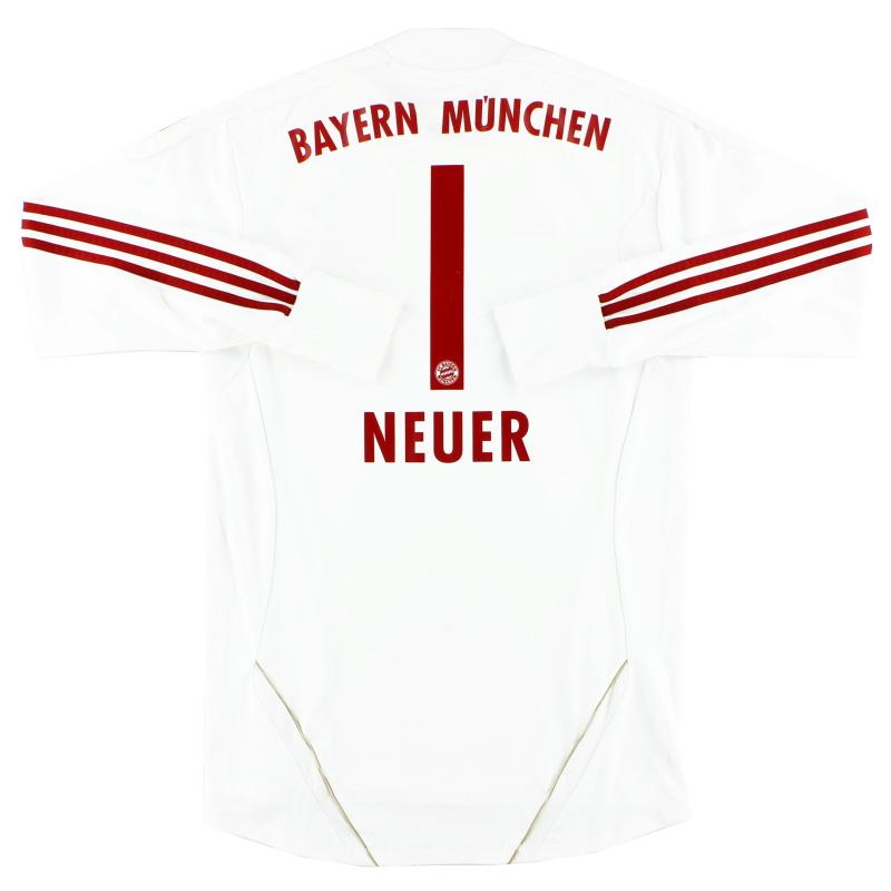 2011-12 Bayern Munich Goalkeeper Shirt Neuer #1 M
