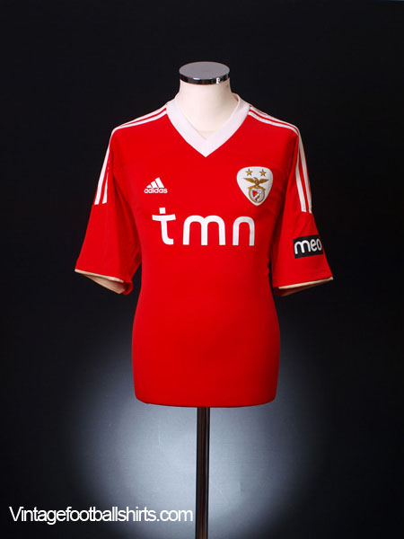 2011-12 Benfica Home Shirt *BNWT* L