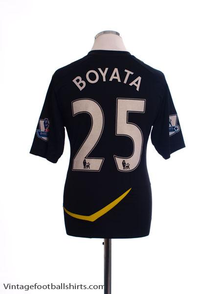 2011-12 Bolton Away Shirt Boyata #25 M