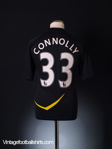 2011-12 Bolton Player Issue Away Shirt Connolly #33 *As New* M