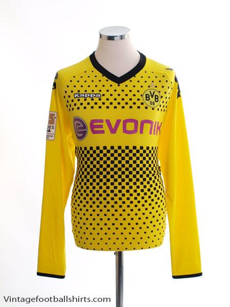 2011-12 Borussia Dortmund Home Shirt L/S L