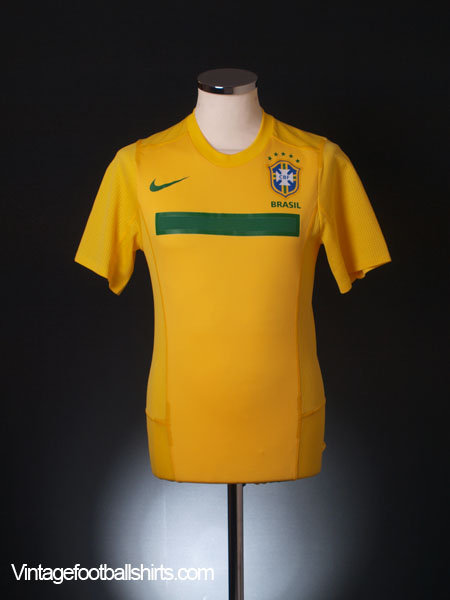 2011-12 Brazil Player Issue 'Authentic' Shirt S