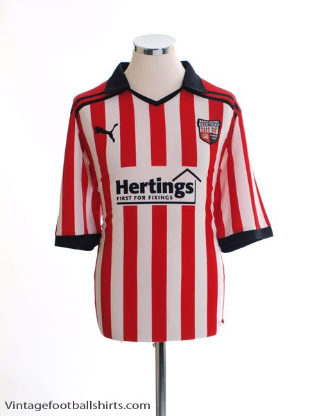 2011-12 Brentford Home Shirt XL