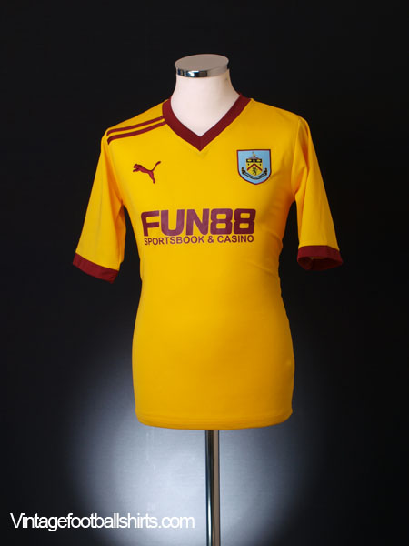 2011-12 Burnley Away Shirt XXL