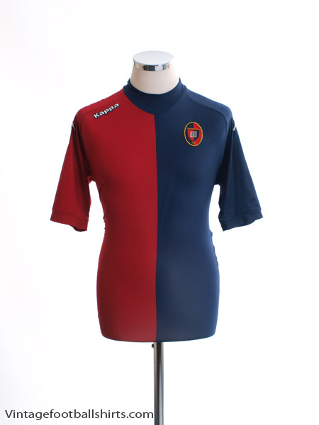 2011-12 Cagliari Home Shirt XL