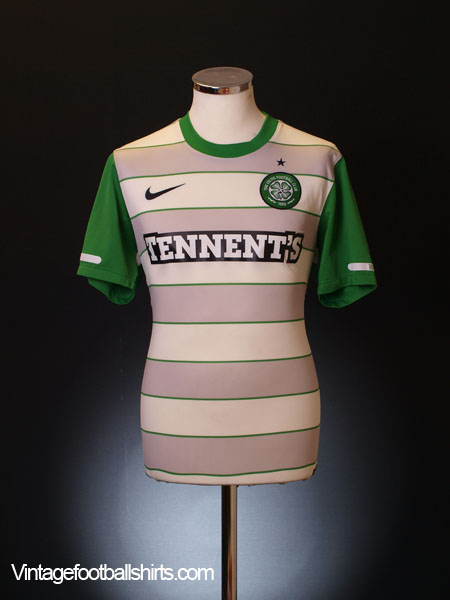 2011-12 Celtic Away Shirt L