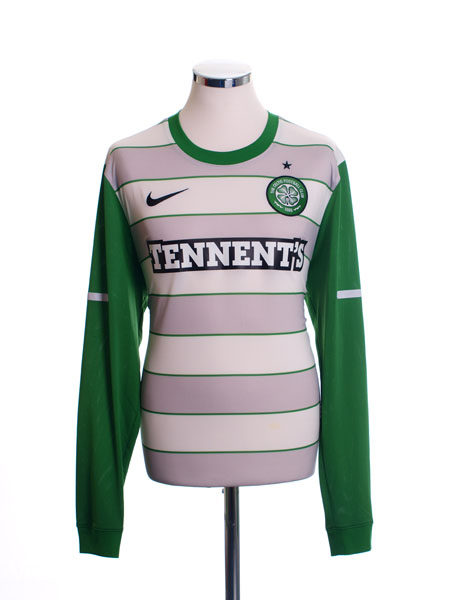 2011-12 Celtic Away Shirt L/S L