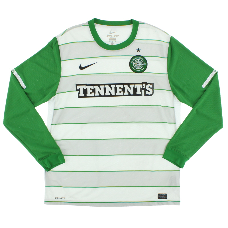2011-12 Celtic Away Shirt L/S S - 419979-105