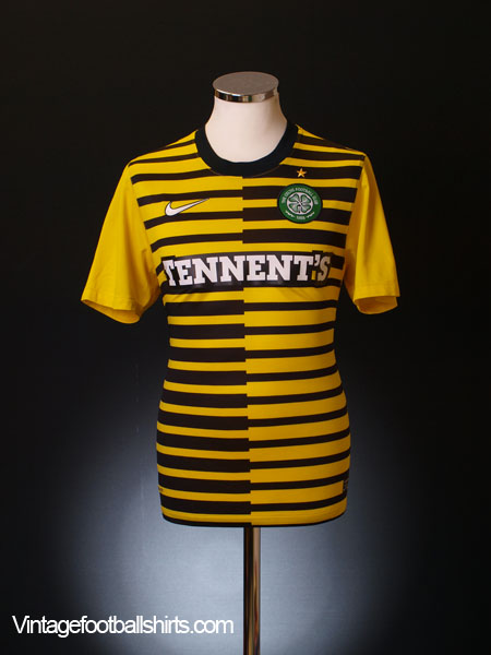 2011-12 Celtic Third Shirt S