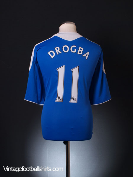 buy online e52e6 1b629 2011-12 Chelsea Home Shirt Drogba #11 XXL for sale