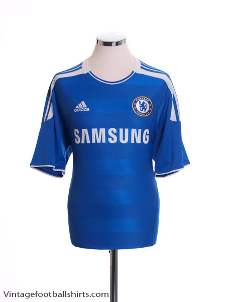 2011-12 Chelsea Home Shirt *Mint* L