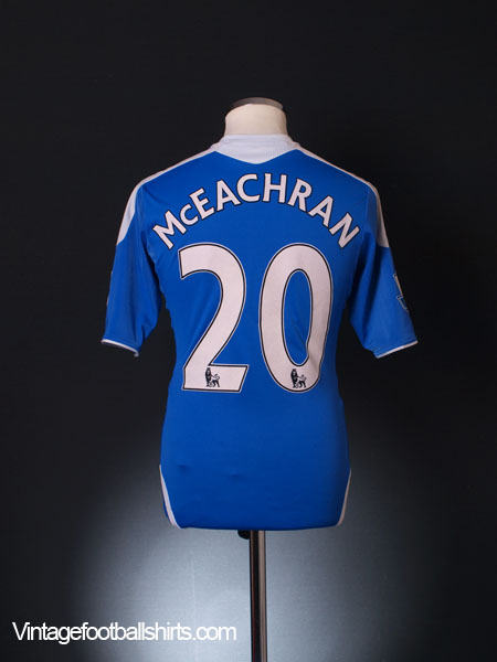 2011-12 Chelsea TechFit Player Issue Home Shirt McEachran #20 M