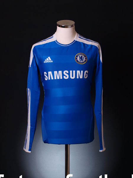 2011-12 Chelsea TechFit Player Issue Home Shirt *BNWT* L/S