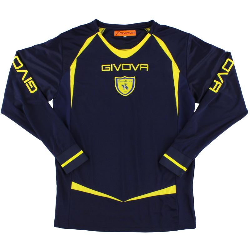 2011-12 Chievo Verona Givova Training Shirt L