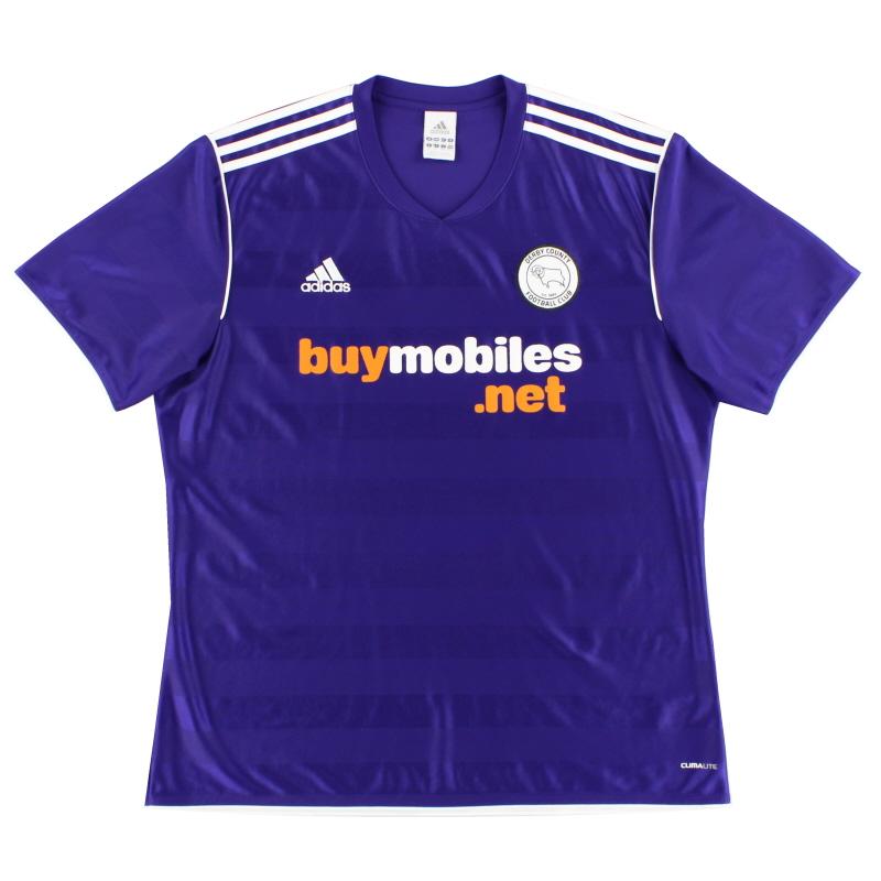 2011-12 Derby County Away Shirt XL - O07599