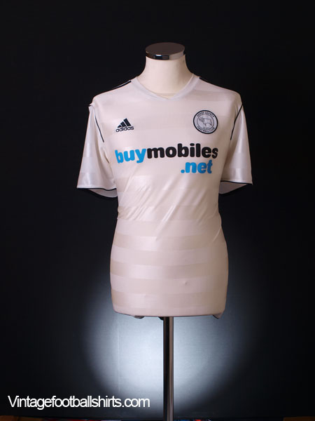 2011-12 Derby County Home Shirt L
