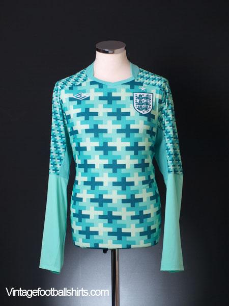 2011-12 England Goalkeeper Shirt *BNIB* L