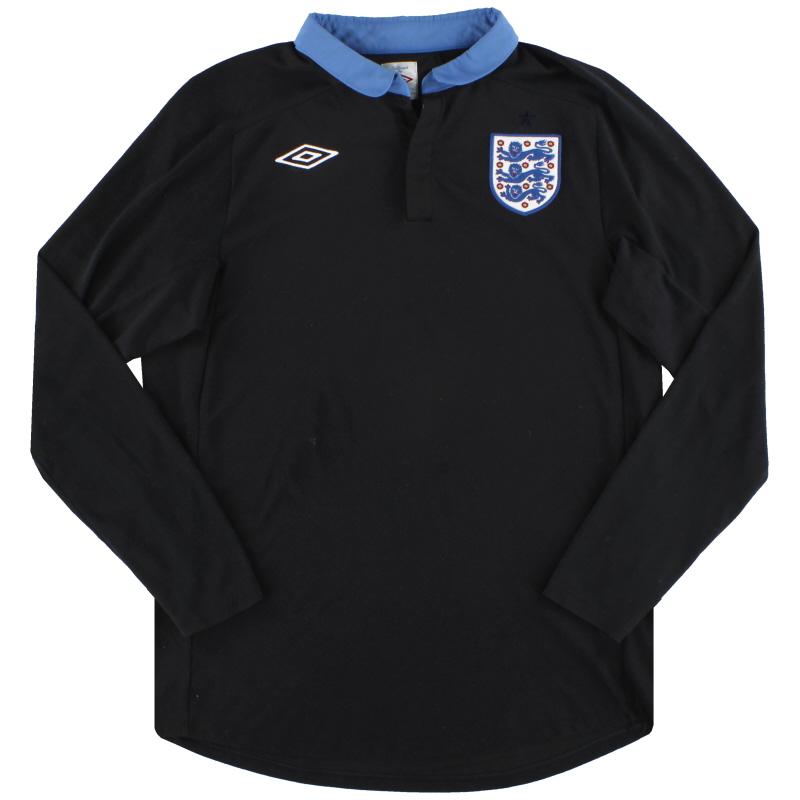 2011-12 England Umbro Away Shirt L/S L