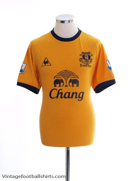 2011-12 Everton Away Shirt M