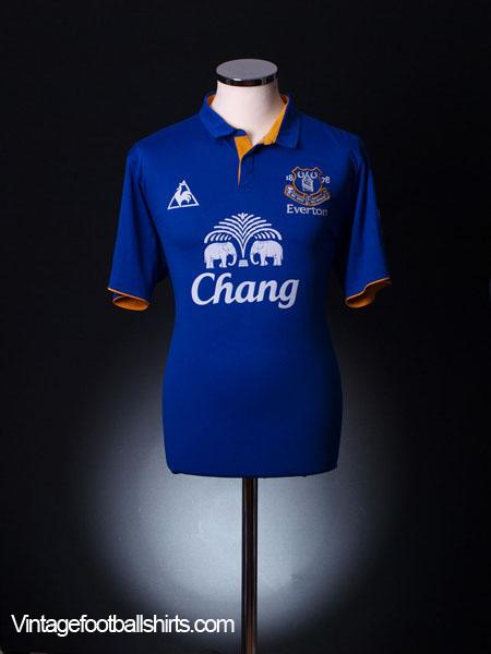 2011-12 Everton Home Shirt L