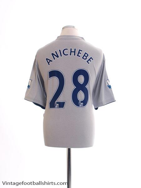 2011-12 Everton Third Shirt Anichebe #28 *Mint* XL