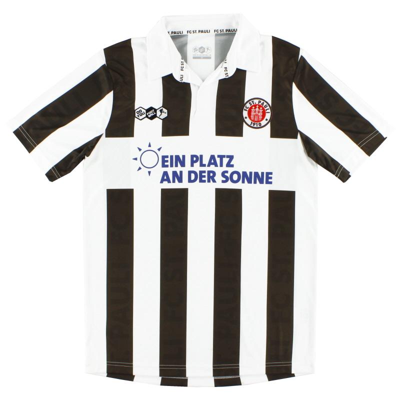 2011-12 FC St. Pauli Home Shirt *Mint* M - 28836