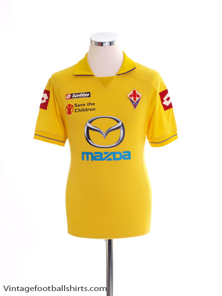2011-12 Fiorentina Away Shirt S