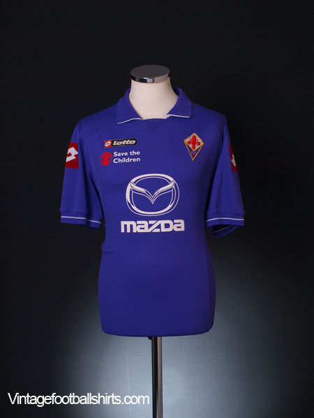 2011-12 Fiorentina Home Shirt XL