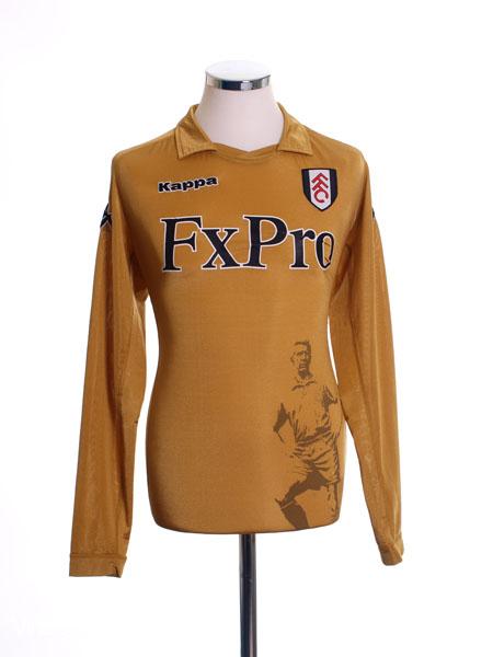 2011-12 Fulham Third Shirt L/S M