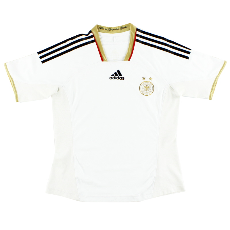 2011-12 Germany adidas Womens Player Issue Home Shirt M